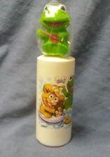 1985 Nib- Avon- Muppet Babies Finger Puppet Kermit Bubble Bath- In Original Box