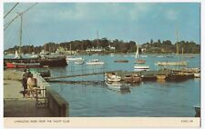 Hampshire; Lymington River From The Yacht Club PPC Unused, c 60s By Cotman-Color