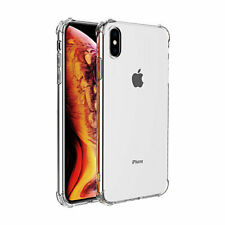 iPhone Xs / X bumper case TPU + acryl - transparant