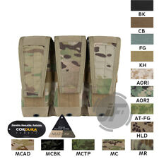 Emerson 5.56 .223 Triple Magazine Pouch MOLLE Modular Tactical Army Mag Carrier