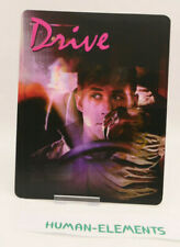 DRIVE - 3D LENTICULAR Flip Magnet Cover TO FIT bluray steelbook