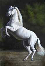 LMOP02 100% hand-painted modern horse oil painting decor art on canvas
