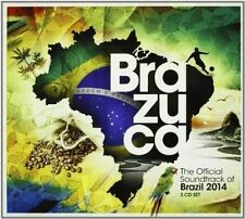 VARIOUS ARTISTS - BRAZUCA: THE OFFICIAL SOUNDTRACK OF BRAZIL 2014 NEW CD