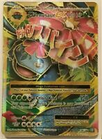 MEGA Venusaur EX FULL ART ULTRA RARE 100/108 Pokemon XY Evolutions HOLO NM