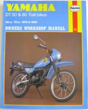 YAMAHA DT50 & 80 Trail bikes 1978-85 Original Haynes Motorcycle Workshop Manual