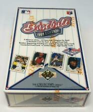 Upper Deck 1991 Baseball Cards - 36 Packs
