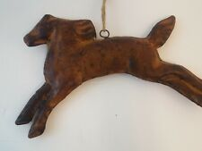 Horse Pony Hanging Metal Primitive Farmhouse Style Country Tin Rustic 3D New
