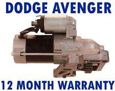 DODGE AVENGER - 2.0 CRD SALOON 2007 2008 2009 2010 - 2015 STARTER MOTOR