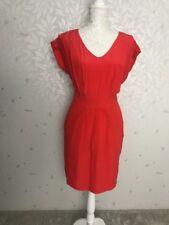 M&S Limited Collection Silk Dress Size12 Orange