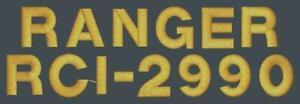 Ranger RCI-2990 W/ No Rack Handles CB Radio Amateur Radio Dust Cover