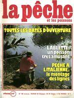 Revue la pêche et les poissons No 465 Février 84