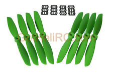HQ Prop 6045 6x4.5 GREEN MultiRotor propeller (TOTAL 8PCS CW & CCW), FREE SHIP