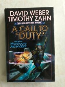 A Call to Duty by David Weber & Timothy Zahn (Hardback)
