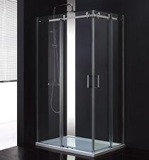 Lux-aqua Design Eckeinstieg Duschkabine Duschabtrennung 8mm Glas dusche MSST412L