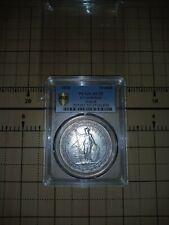 1930 Great Britain Trade Dollar Silver PCGS AU55 (Prid-28) $1 Coin Blast White