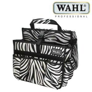 Wahl Tool Carry Hairdressing Multi Compartment Equipment Bag Zebra ZX775