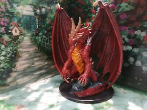 Huge Red Dragon #71 of 72 Giants of Legend Miniature *No Stat Card*