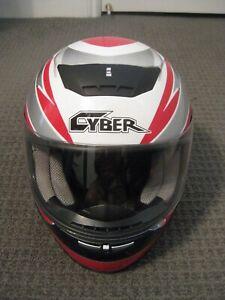 Cyber Helmets-Full Face Motorcycle Helmet-Adult Extra Small-XS-53~54cm-EUC