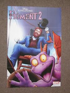 Marvel Comics Figment 2 Disney Kingdoms Marvel Comics Superhero Poster 36 x 24