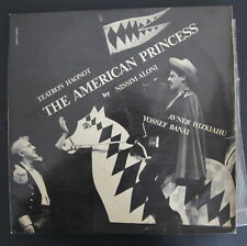"American Princess a Play 12"" 2LP 1964 Hebrew Yosl Bergner Signed by Yossi Banai"