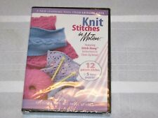 Knit Stitches in Motion - Stitches for All Skill Levels DVD