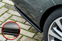 Heckansatz Seitenteile aus ABS für Opel Astra K Sports Tourer Schwarz Glanz