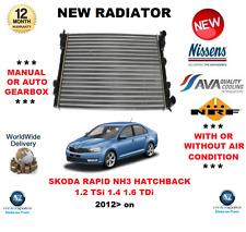 Per SKODA RAPID NH3 Berlina 1.2 TSI 1.4 1.6 TDI 2012 > NUOVO RADIATORE OE Quality