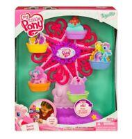 NEW 2009 MY LITTLE PONY FERRIS WHEEL Cupcake pinkie Pie set Motion Sound G2