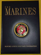 The Marines Huge Book! 2012 Padded Cover Great Graphics! Great Photography! See!