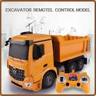New 2017 Toy RC Remote Control 2.4G Big Dump Truck Functional With LED Light
