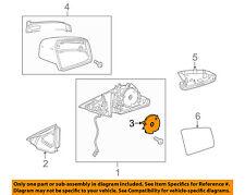 Mercedes MERCEDES-BENZ OEM-Door Side Rear View Power Mirror Motor 1718201042