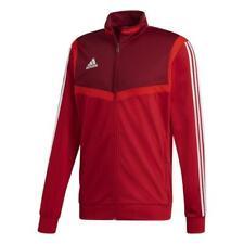 Adidas Fußball Tiro 19 Polyester Jacke Fußballjacke Herren rot