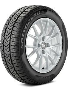 Pirelli Sottozero 3 Used Winter Tire 19 inch 245/40R19