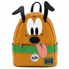 Loungefly Disney Pluto Dog Goofy Cartoons Cosplay Mini Backpack Bag WDBK1164