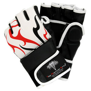 MMA Synthetic Hybrid Training Gloves