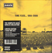OASIS TIME FLIES 1994-2009 DELUXE 3 CD + DVD BOX SET NEW NOEL LIAM GALLAGHER