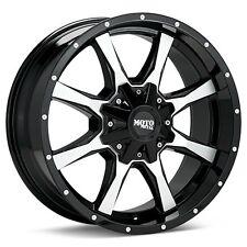 18 inch Moto Metal 18x10 MO970 Rims Black Machined -24mm 6x135 6x5.5 6 Lug FAST