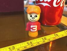 Fisher Price Figure Young Boy #3 Toys Vintage Mini Fig Very Old Toy