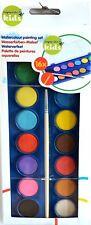 Wassermalkasten Wasserfarben-Malset Wasserfarben 17-teilig incl. Pinsel  22071
