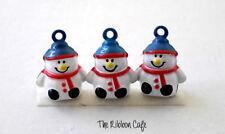 Snowman metal pet  bell