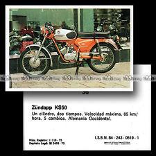 #mtr76.036 ★ ZÜNDAPP KS 50 1970's Cyclo ★ Moto Motorismo 76