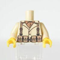 Lego Custom WW2 US BAR Printed Torso - NEW for custom Soldiers