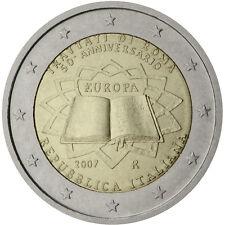 ITALIA: 2 EURO COMMEMORATIVO 2007 - TRATTATI DI ROMA