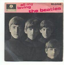 "BEATLES - ALL MY LOVING - 7"" VINYL E.P. (4)"