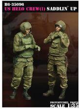 1/35 scale resin model kit US Helo Crew (1) Saddlin' up