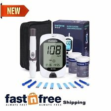 Diabetes Test Kit Tester Diabetic Test Strips Blood Sugar Glucose Meter Machine
