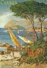 Carte postale Affiche Trains Cie PLM Cannes lot 23547