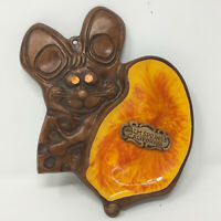 Treasure Craft Mouse Cheese Palm Springs California Souvenir Tray Wall Hanging