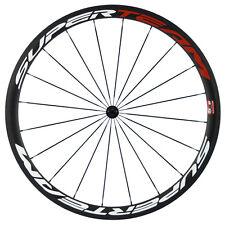 700C Carbon Wheel 23mm Width 38mm Clincher Road Wheels R13 Hub Front Wheel
