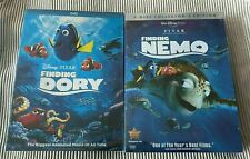 Finding Nemo + Dory (Dvd, 2-Disc Collection ) New & Sealed First Class Shipping